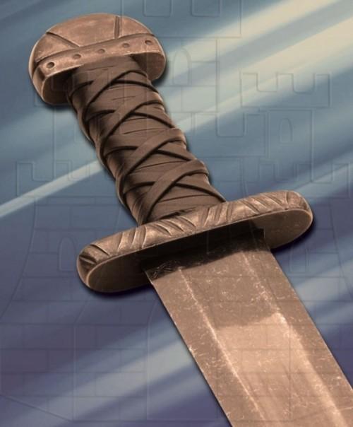 Espada vikinga Maldon de combate - Espada Bosworth larga de combate
