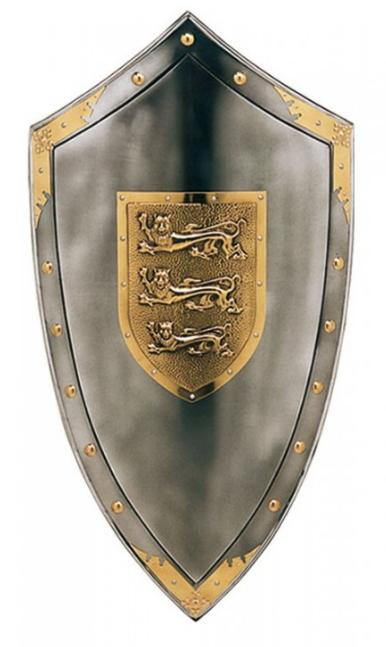Escudo de Ricardo Corazón de León - Dagas y Espadas Ricardo I Corazón de León