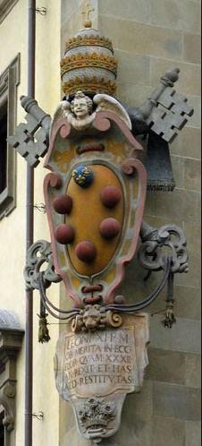 Escudo de los Medici - Daga Medici Renacentista