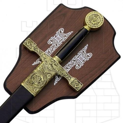 Espada Excálibur con soporte - Dagas y Espadas Excalibur