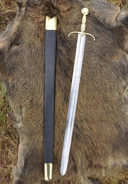 Espada Maximiliano I batalla de Guinegate año 1513 1 - Espada Maximiliano I Batalla de Guinegate 1513