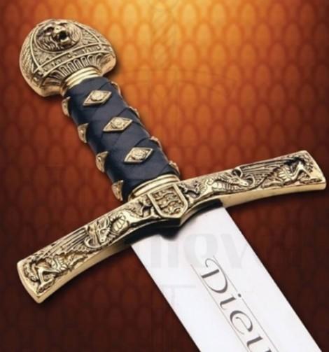 Espada Ricardo Corazón de León 1 470x503 custom - Dagas y Espadas Ricardo I Corazón de León