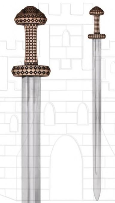 Espada Vikinga isla Eigg acero de alto carbono 406x675 - Espada Vikinga isla Eigg acero de alto carbono