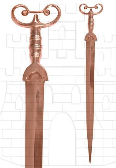 Espada de antenas de bronce - Espada de antenas Edad de Bronce
