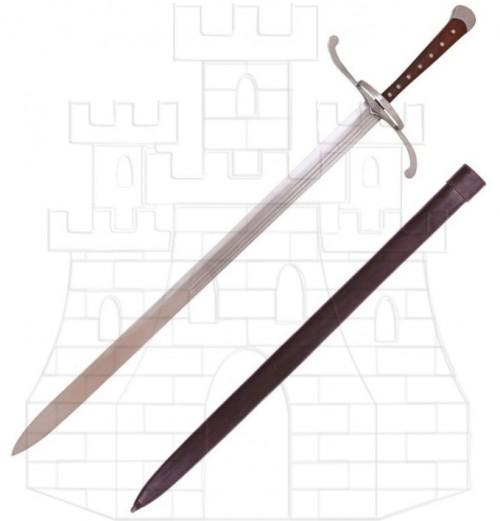Espada medieval alemana año 1510 - Espada medieval Flor de Lys Francia Siglo XIV