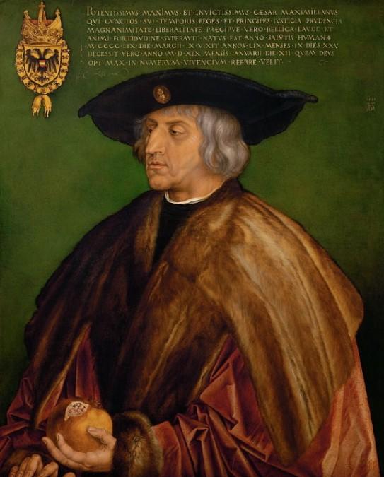 Maximiliano I de Habsburgo 576x675 - Maximiliano I de Habsburgo