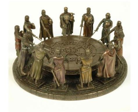 Caballeros de la tabla redonda - Espadas del Rey Arturo