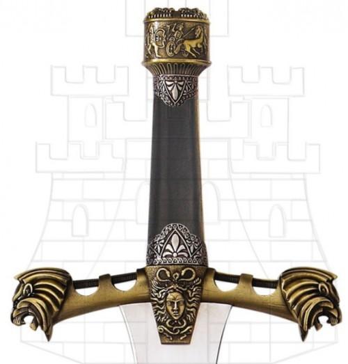 Espada Alejandro Magno empuñadura - Daga Darius película Alejandro Magno