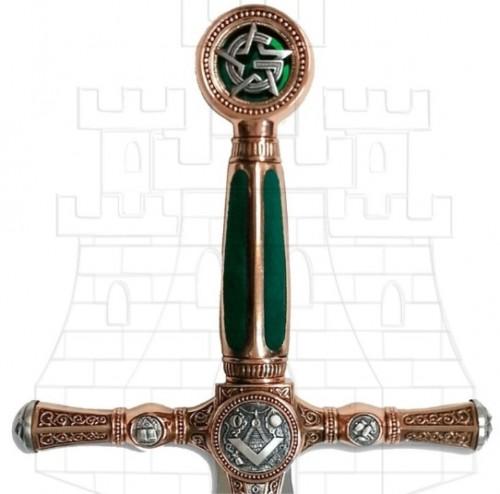 Espada Masones Grado Aprendiz - Espadas y dagas con puño de terciopelo