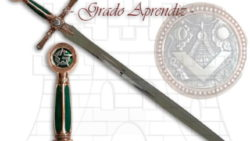 Espada Masones Grado de Aprendiz 250x141 - Espada Masones Grado de Aprendiz
