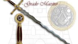Espada Masones Grado de Maestro 250x141 - Espada Masónica Caballeros