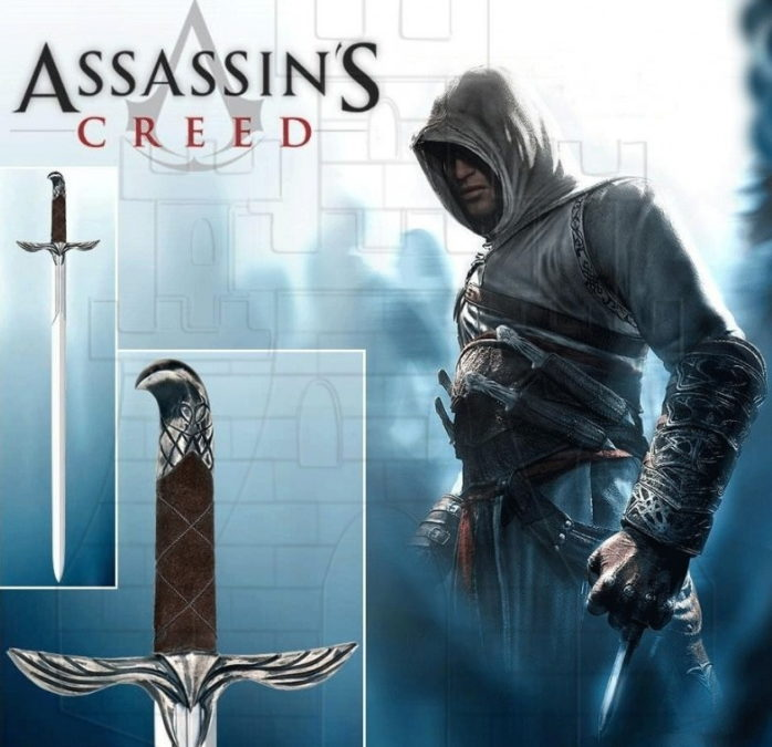 Espada de Assasins Creed 698x675 - Espada de Assasins Creed