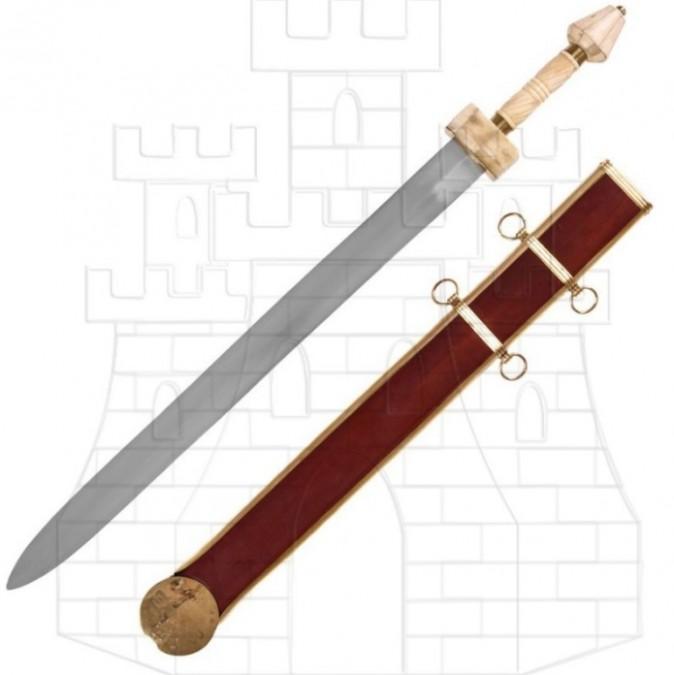 Spatha Romana con vaina siglo III d.C. 695x675 - Espada Legiones Romanas