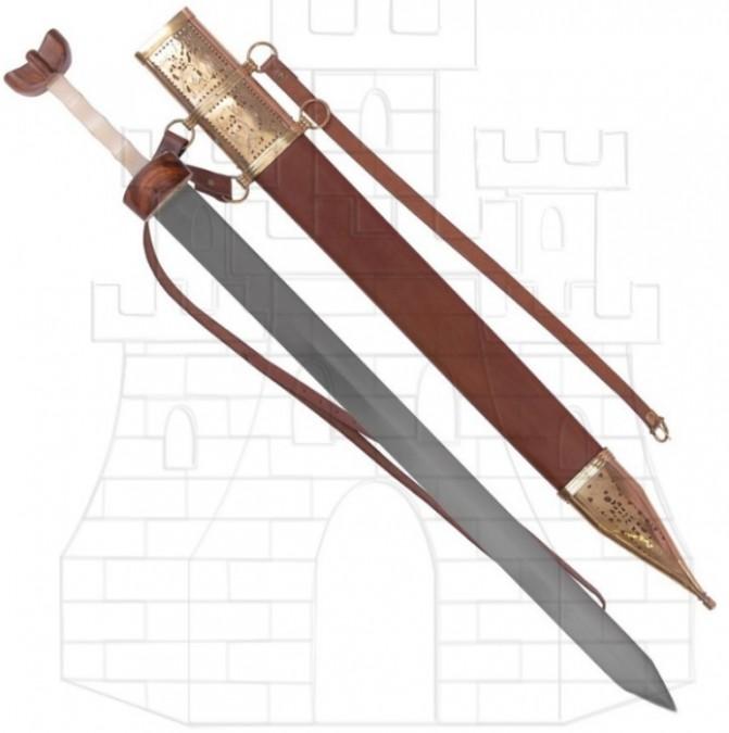 Spatha romana Caballería con vaina 694x675 - Espadas y Sables Windlass SteelCrafts