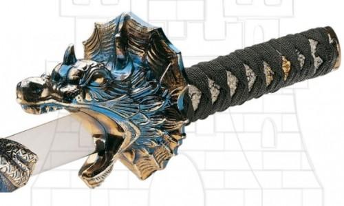Katana rodela dragón - Espadas Dragón