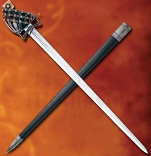 Espada Mercenarios Schiavona - Espada Mercenarios funcional del siglo XV
