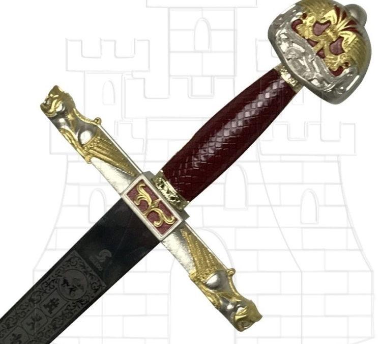 Espada de Carlo Magno 747x675 - Espada de Carlo Magno