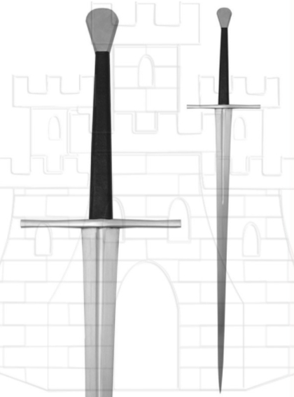 Espada Larga Tinker afilada - Espada larga afiladaTinker Pearce