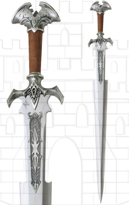 Espada Amothul de Avonthia Kit Rae - Espadas Amothul y Sedethul Avonthia de Kit Rae