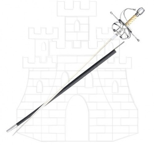 Espada Rapiera Deschaux 1 - Espada Rapiera Deschaux