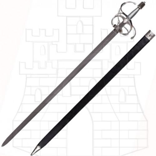 Espada Rapiera de hoja ancha - Espada Rapiera de hoja ancha