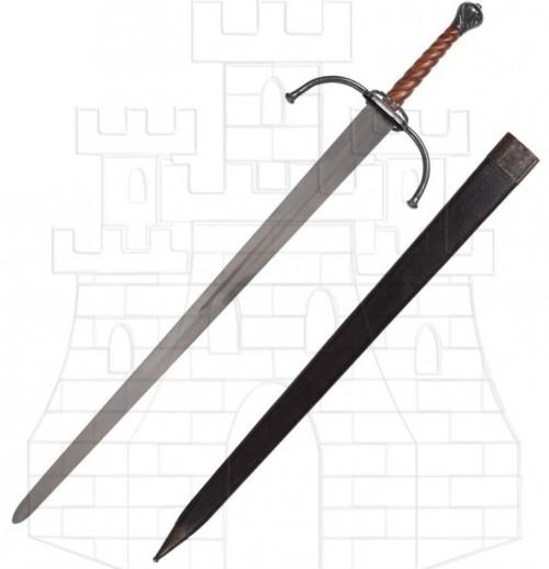 Espada medieval larga o bastarda para prácticas - Diferencia entre las espadas a dos manos, una mano y mano y media