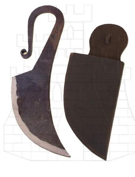 Cuchillo medieval forjado a mano - Cuchillos medievales forjados a mano