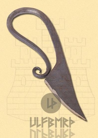 Cuchillo medieval forjado mano - Cuchillos medievales forjados a mano