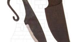 Cuchillo vikingo forjado a mano 250x141 - Espadas de los arqueros medievales