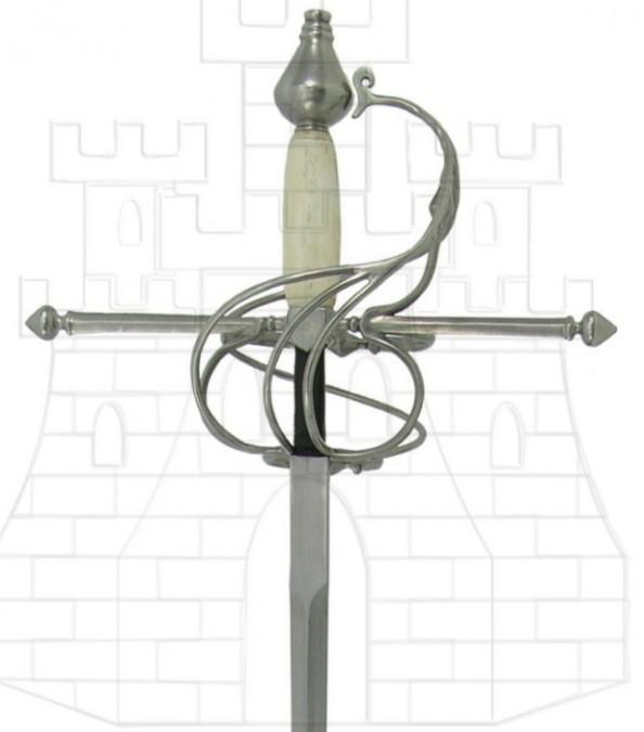 Espada Rapiera puño hueso 617x675 - Espada Rapiera puño hueso