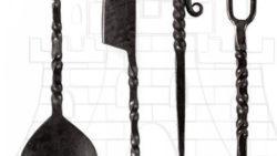 Juego cubiertos medievales forjados 250x141 - Juego cubiertos medievales forjados