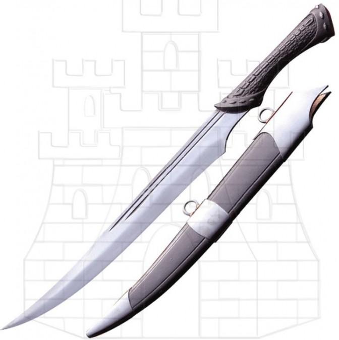 Cuchillo Ravenclaw con vaina 767x675 - Cimitarra Turca con vaina