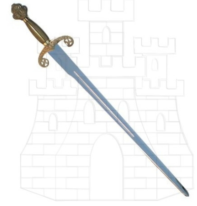 Espada Alfonso X puño costillas - Espadas puño costillas