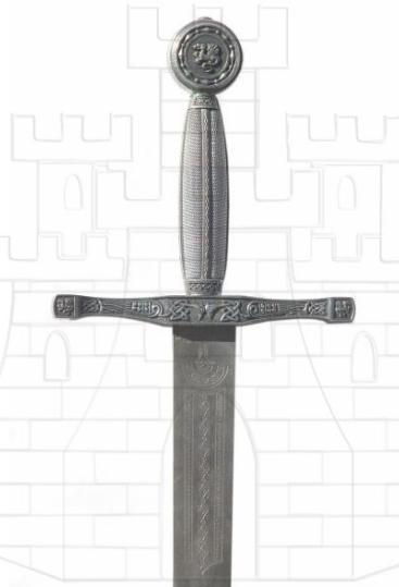 Espada Excalibur rústica - Espadas con acabado rústico