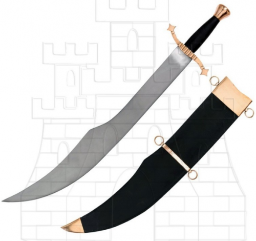 Espada Falchion Medieval - Espadas Falchion funcionales