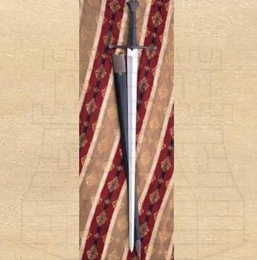 Espada Verneuil mano y media siglo XV 1 - Espada Verneuil mano y media del siglo XV