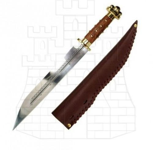 Espada sajona con vaina Siglo VIII - Espada Sajona siglo VIII