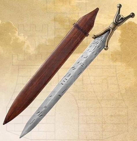 Espada Celta Corta de antenas - Las antenas de las espadas celtas