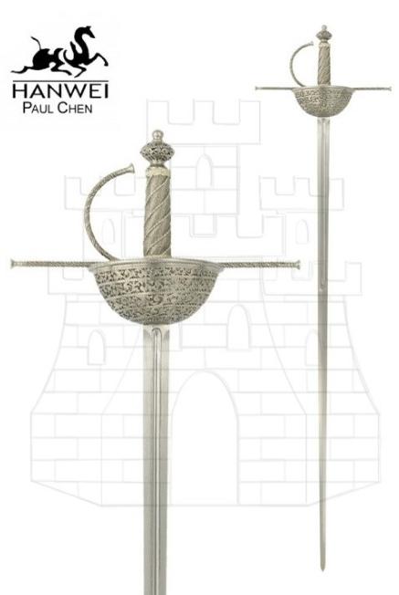 Espada Española Cazoleta 1 - Espada Ropera Española