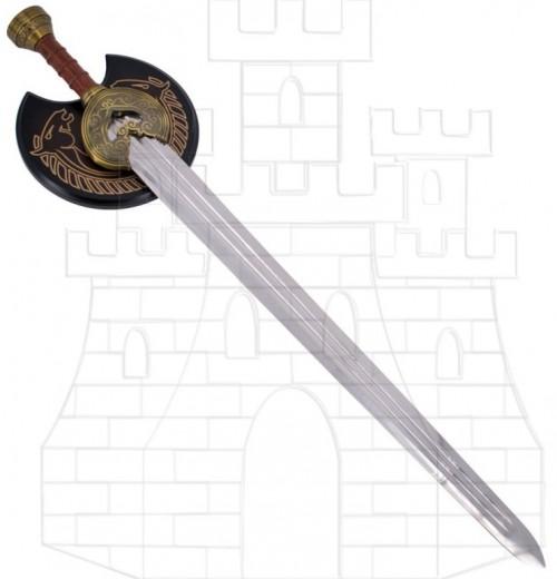 Espada Fantástica con soporte pared 1 - Espadas, Katanas, Dagas y Hachas Fantásticas