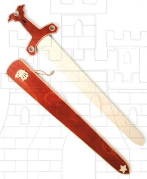 Espada Halcón para niños 1 - Espadas de madera y latex para niños
