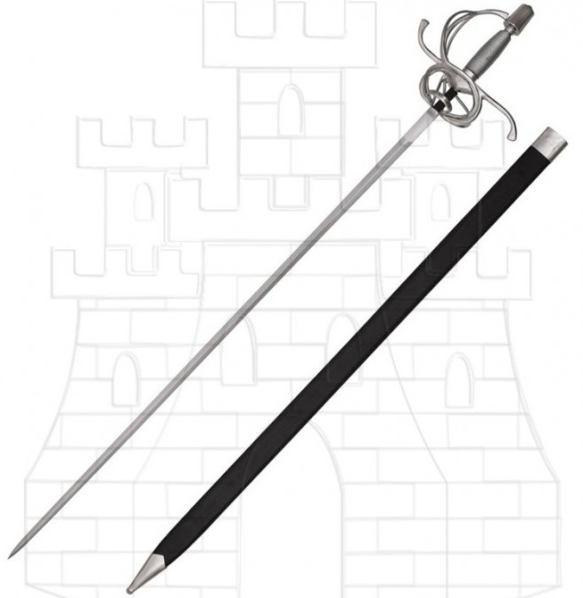 Espada Rapiera de lazo del Renacimiento 729x675 - Espada Rapiera de lazo del Renacimiento