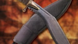 Kukri con vaina 250x141 - Qué es un cuchillo Kukri