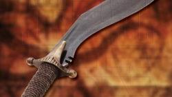 Kukri con vaina para colgar en cinturón 250x141 - Kukri con vaina para colgar en cinturón