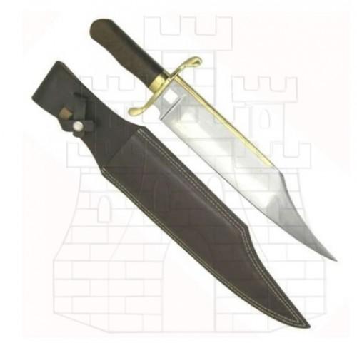 Cuchillo Bowie primitivo 1 - Cuchillos históricos y de época