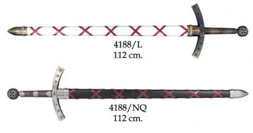 Espada de Hugo de Payens Francia Primera Cruzada - Espada de Hugo de Payens