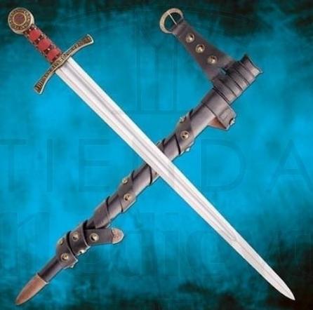 Espada Santa Casilda funcional con vaina - Espada Santa Casilda funcional con vaina