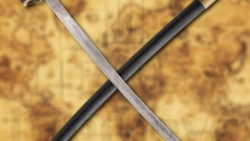 Espada Alfanje Pirata con vaina 250x141 - Espada Bastarda funcional con vaina