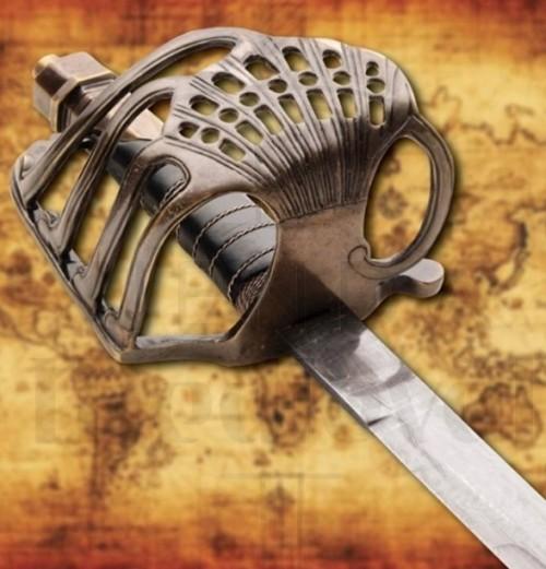 Espada Alfanje Pirata - Espada Alfanje Pirata con vaina
