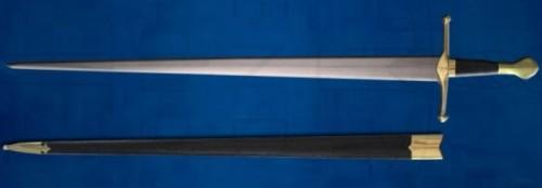 Espada Castillion Funcional con vaina - Espada Castillon Funcional